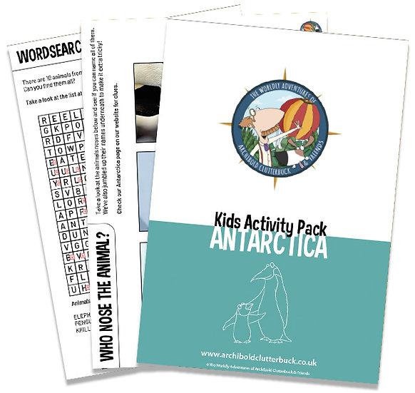 Antarctica Activity Pack