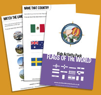 Flags of the World Activity Pack