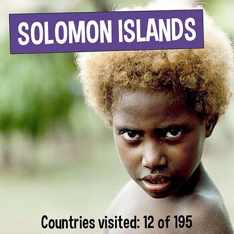 Blonde Melanesian - Fun Facts about Solomon Islands - Kaia's Worldly Adventure