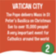 Vatican City Mass - Christmas around the world
