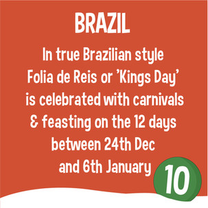 Folia de Reis, Brazil- Christmas around the world