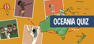 Quiz on Oceania for kids