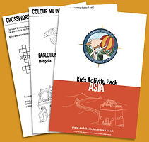 Free activity pack on Asia