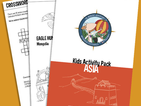 Your FREE Asia activity pack