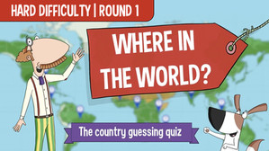 Where In The World Quiz for kids _ Hard
