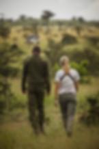 Anti poaching patrol Kenya - Michelle -