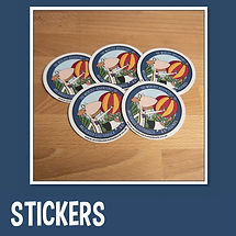 Kids Archibold Clutterbuck Stickers