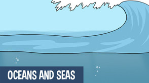 Learn about the worlds oceans and seas