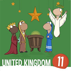 Nativity, UK- Christmas around the world