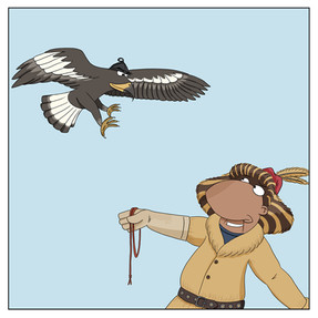Fun Facts about the Eagle Hunters