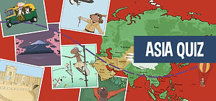 Quiz on Asia for kids