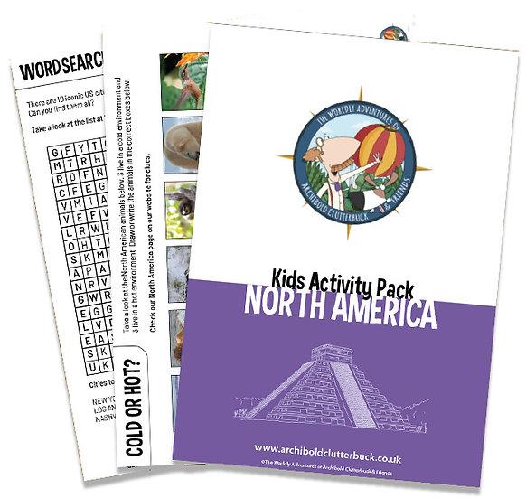 North America Activity Pack