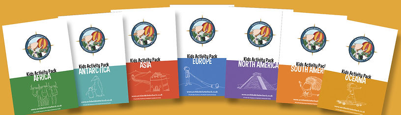 Free geography activity packs for homeschoolers