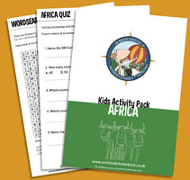 FREE activity pack on Africa