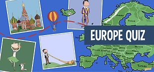 Quiz on Europe for kids
