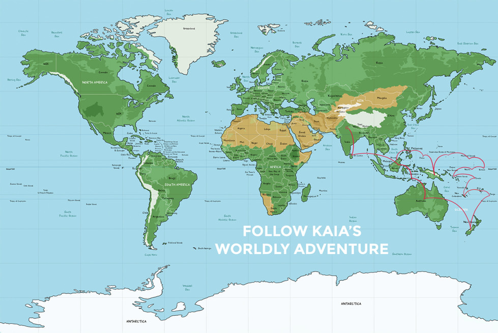 Kaia's Worldly Adventure