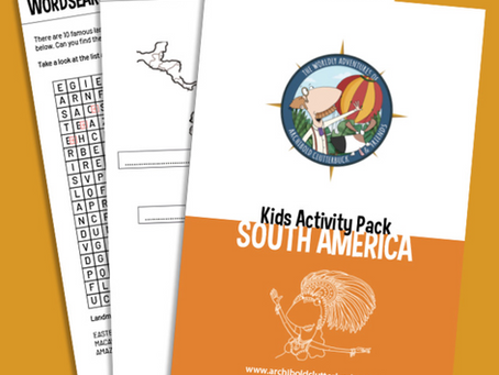 Your FREE South America activity pack