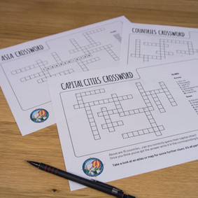 Kid activities - Crosswords