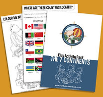 7 Continents Activity Pack