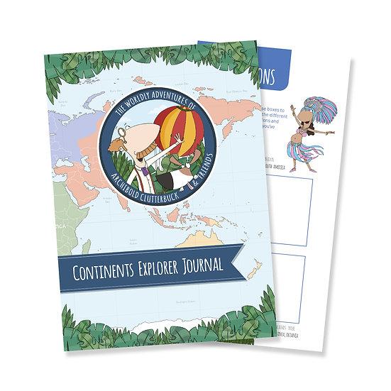 Continents Explorer Journal
