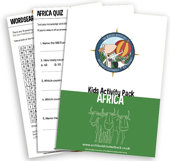 Africa Activity Pack