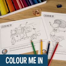 Kid Activities - Colour In Sheets