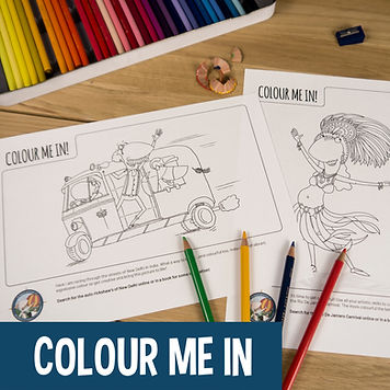 Activities for Kids - Colour In Sheets