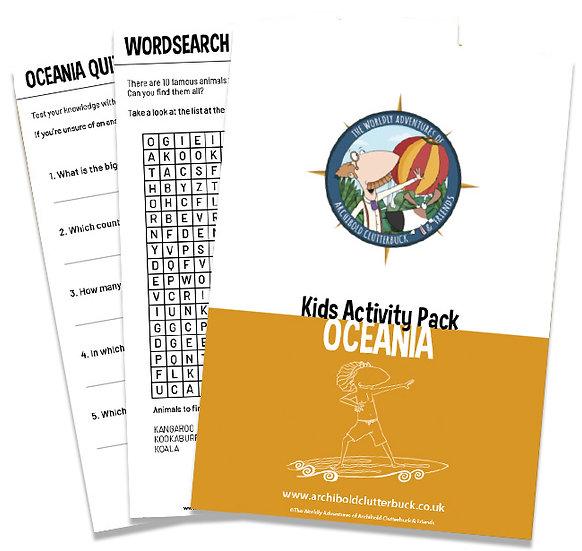 Oceania Activity Pack