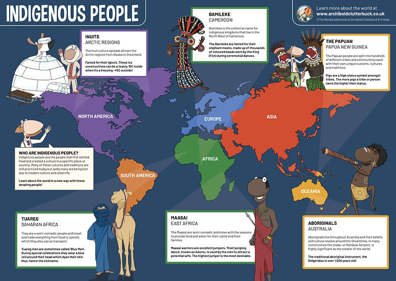 Indigenous People A2 Poster