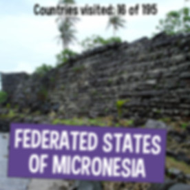 Facts about the Federated States of Micronesia