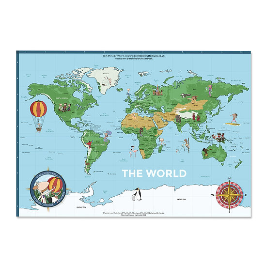 The World Map | A1