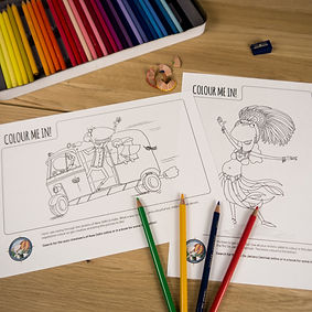 Kid activities - Colour-ins