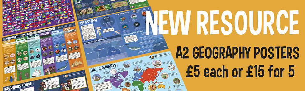 New Resource Geography Posters