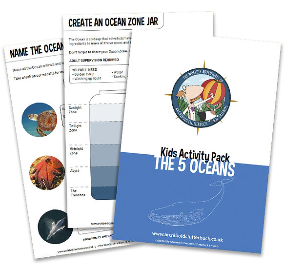 5 Oceans Activity Pack