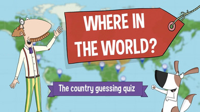Where In The World Quiz for kids