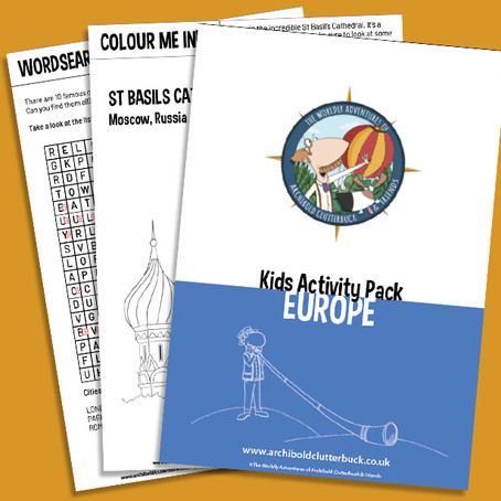 Your FREE Europe activity pack