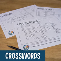 Kids activity - Crosswords