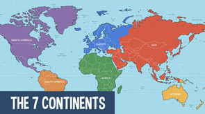 Fun Facts about the 7 continents of the