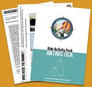 Free activity pack on Antarctica