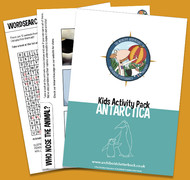 Free activity pack on Antarctica