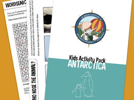 Your FREE Antarctica activity pack