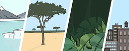 Learn about the world environments
