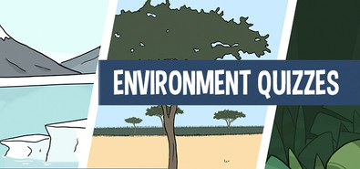 Quiz on the worlds environments for kids