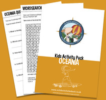 Free activity pack on Oceania