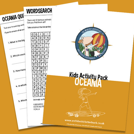 Your FREE Oceania activity pack