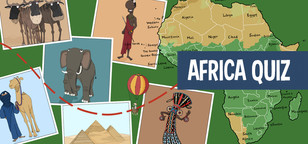 Quiz on Africa for kids