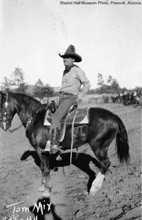 """Tom Mix and The Ultimate """"go-to-hell"""" Hat"""