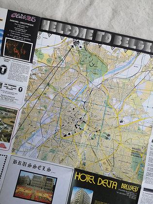 Carte routière - Bruxelles