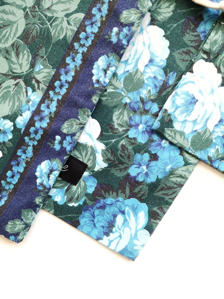 Pochon Fleur bleue - Atelier Sauvage