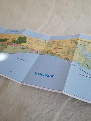 Carte géographique - Terschelling